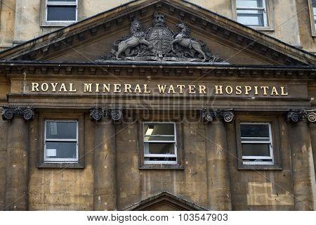 Mineral Water Hospital, Bath, Somerset, England