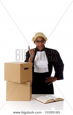Young American Judge Man, Warning