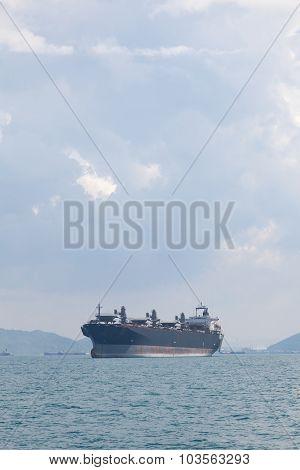Large Cargo Ship