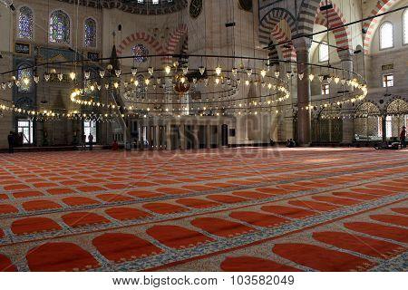 Suleymanie Mosque, istanbul.