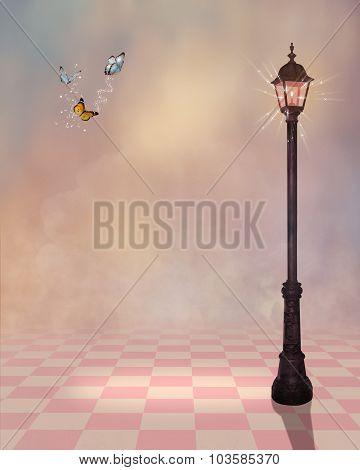 Fantasy Street Lamp