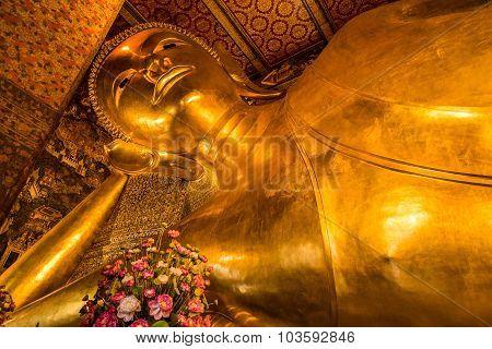 Golden Buddha At Wat Pho