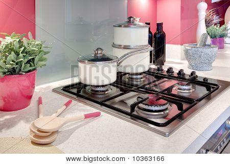 Modern Kitchen Hob