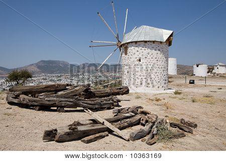 Traditional Turkish Windmill
