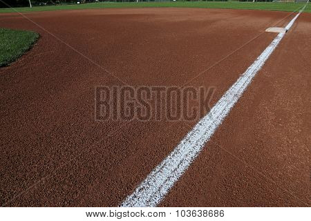 Down the First Base Line
