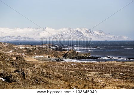 East Fiords In Iceland