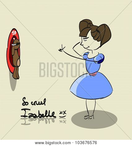 so cruel girl Izabelle