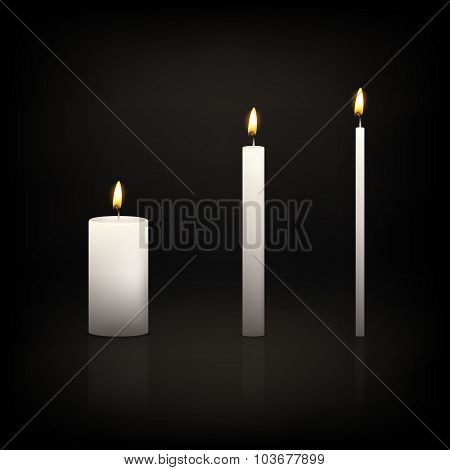 Candle set.