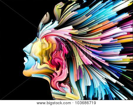 Mind Painting Background