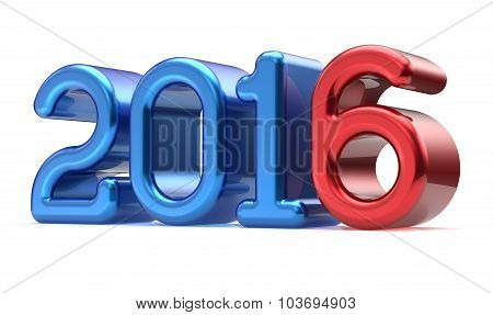New Years Eve 2016 Wintertime Banner Decoration Number