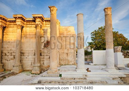 Hadrian's Library, Athens.