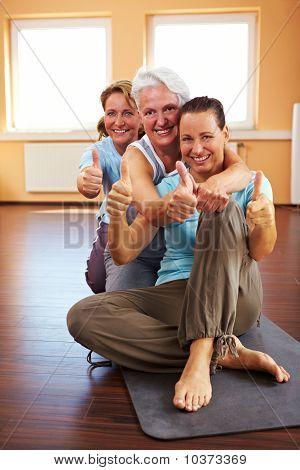 Successful Yoga Class