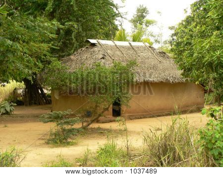 Small House In A Rural Village