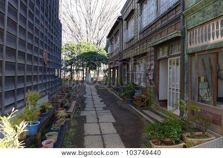 Retro Alley in Tokyo