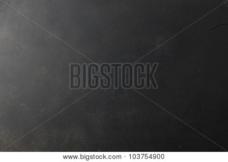 Black grunge textured background with copy space