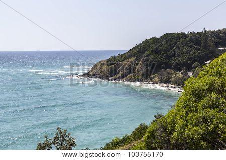 Byron Bay coastal view