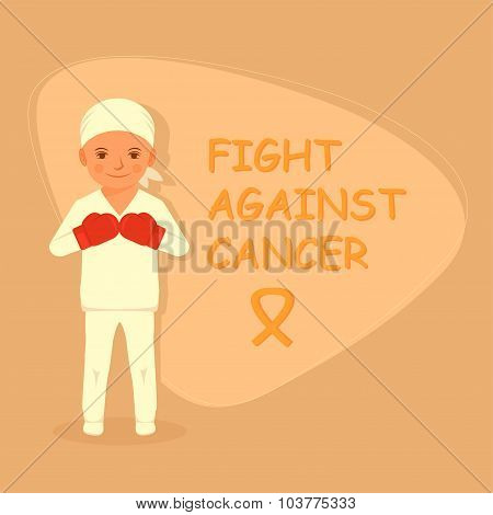 kid fighting cancer,