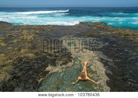 Gran Canaria, West End Of El Confital Beach