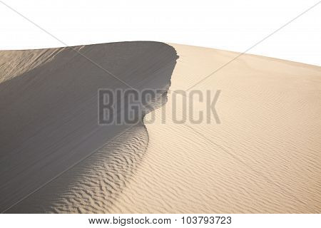 Barchan Dune Isolated