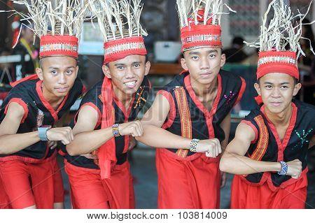 Dusun Tribe