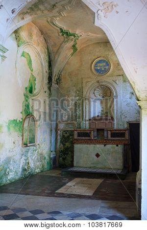 Interior Of Carmine Church, Erice