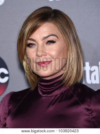 LOS ANGELES - SEP 26:  Ellen Pompeo arrives to the TGIT Premiere Red Carpet Event  on September 26, 2015 in Hollywood, CA.