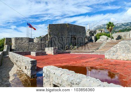 The fortress Kanli Kula (Bloody Tower) Herceg Novi Montenegro poster