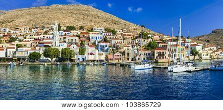 beautiful islands of Greece - Halki (Dodecanese)