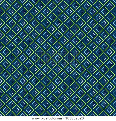 Abstract geometric diamond shape seamless pattern