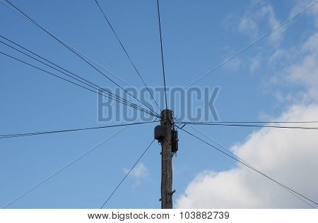 Telecommunications Pole