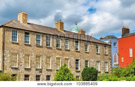 Buildings At Dublin Castle Seen Froom Dubh Linn - Ireland