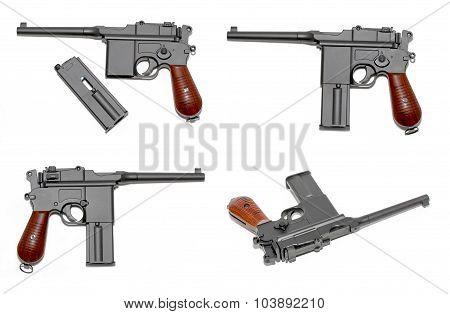 Handgun Mauser M-72. Air Gun