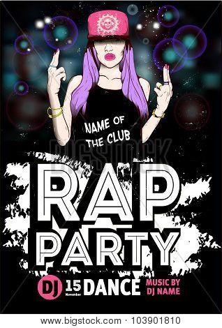 Rap Party poster