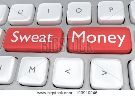 Sweat Money Concept