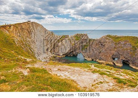 Stair Hole Lulworth Cove Dorset