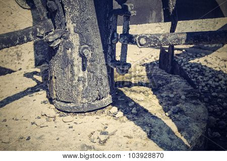 Abstract Design Of Part An Ancient Mill