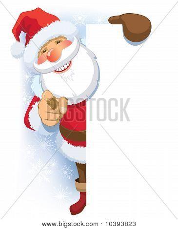 Santa Claus-Werbung