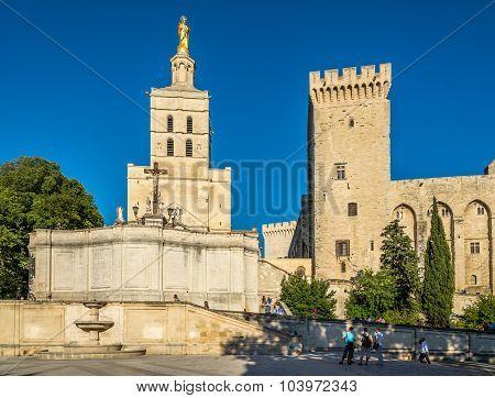 Cathedral Of Notre Dame Des Doms In Avignon
