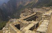 Machu Picchu Ruins On The Cliff
