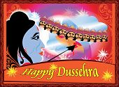 Celebrations .Dussehra is a hindu festival celebrated for the victory of lord Rama over the demon ravana. Illuminations are seen all over the country on this occasion. poster