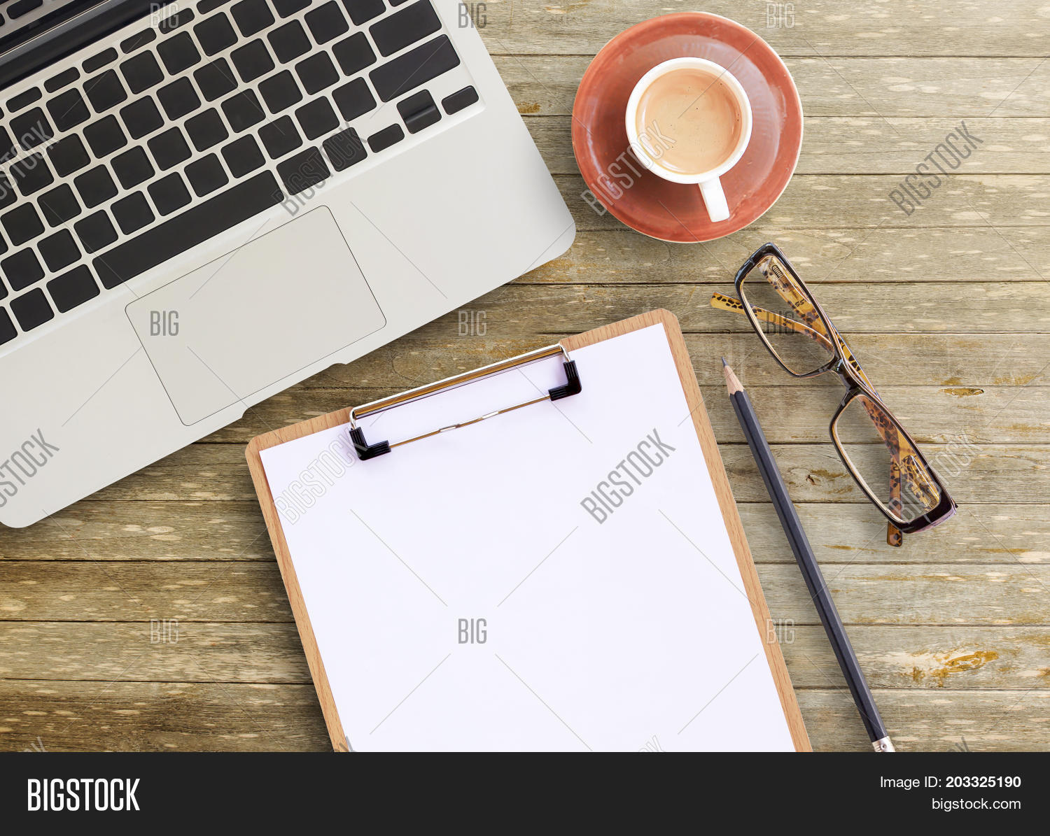 office table top view. Contemporary View Office Desktop View Of Brown Wooden Office Table With Cup  Coffeeglassespencil Notepad And With Table Top View