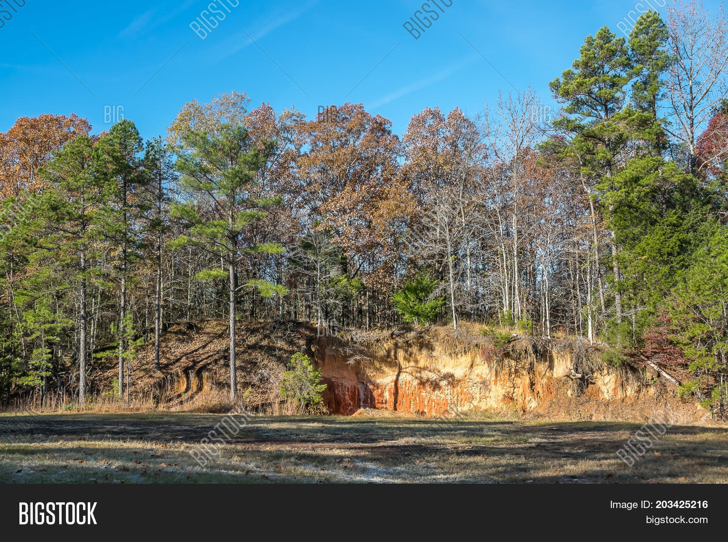 Red clay hills on fall image photo free trial bigstock red clay hills on a fall day in north mississippi publicscrutiny Image collections