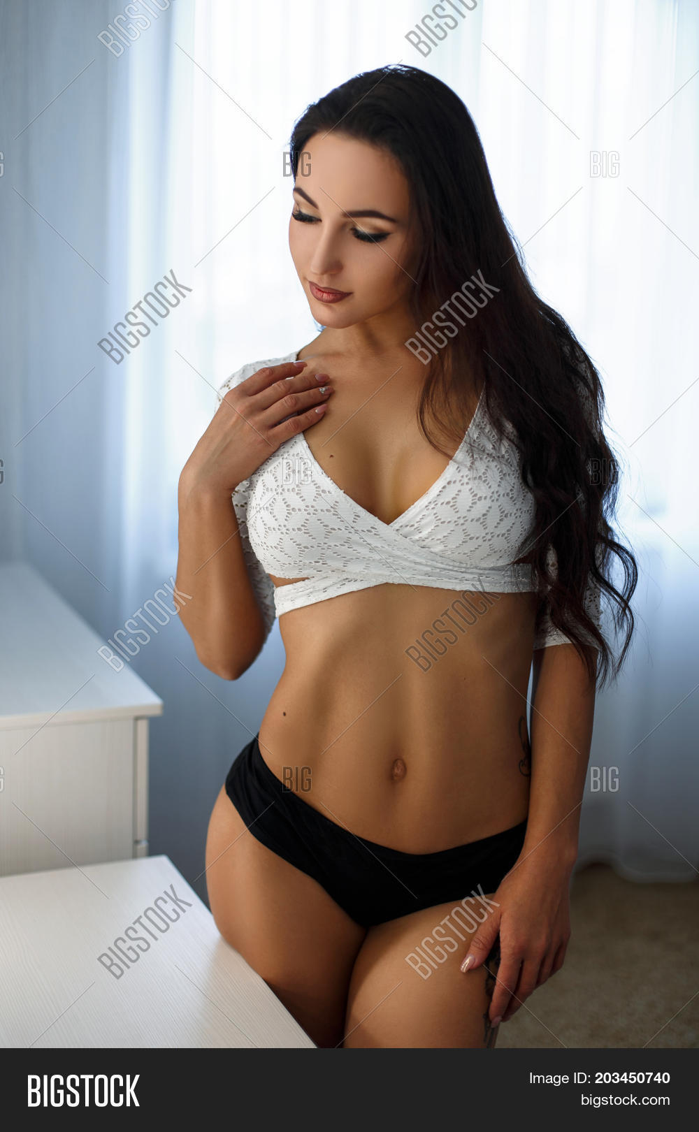 beautiful young girl big boobs sexy image & photo | bigstock