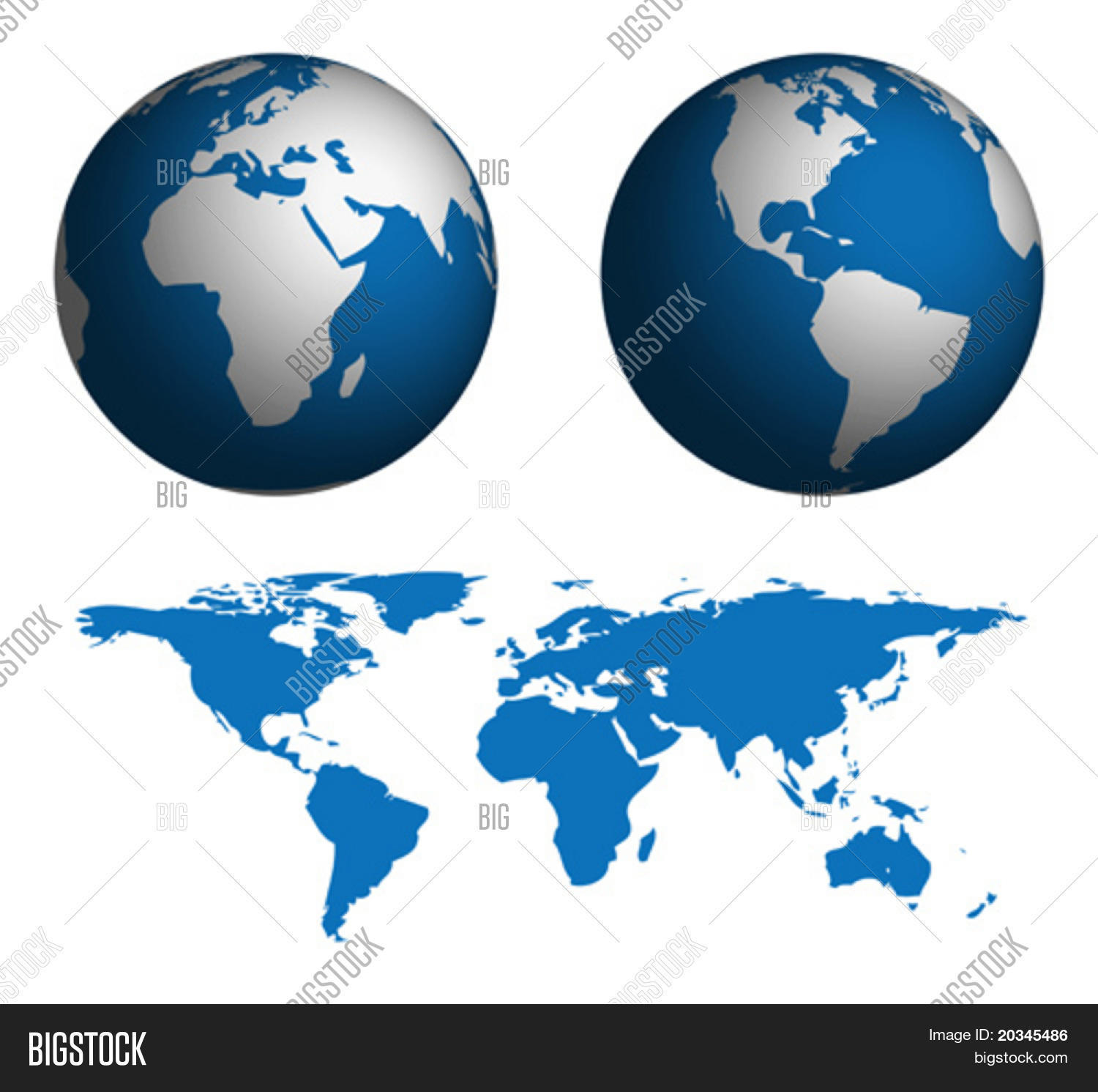 Globe map world map manually vector photo bigstock globe and map of the world map was manually traced in illustrator from public domain gumiabroncs Choice Image