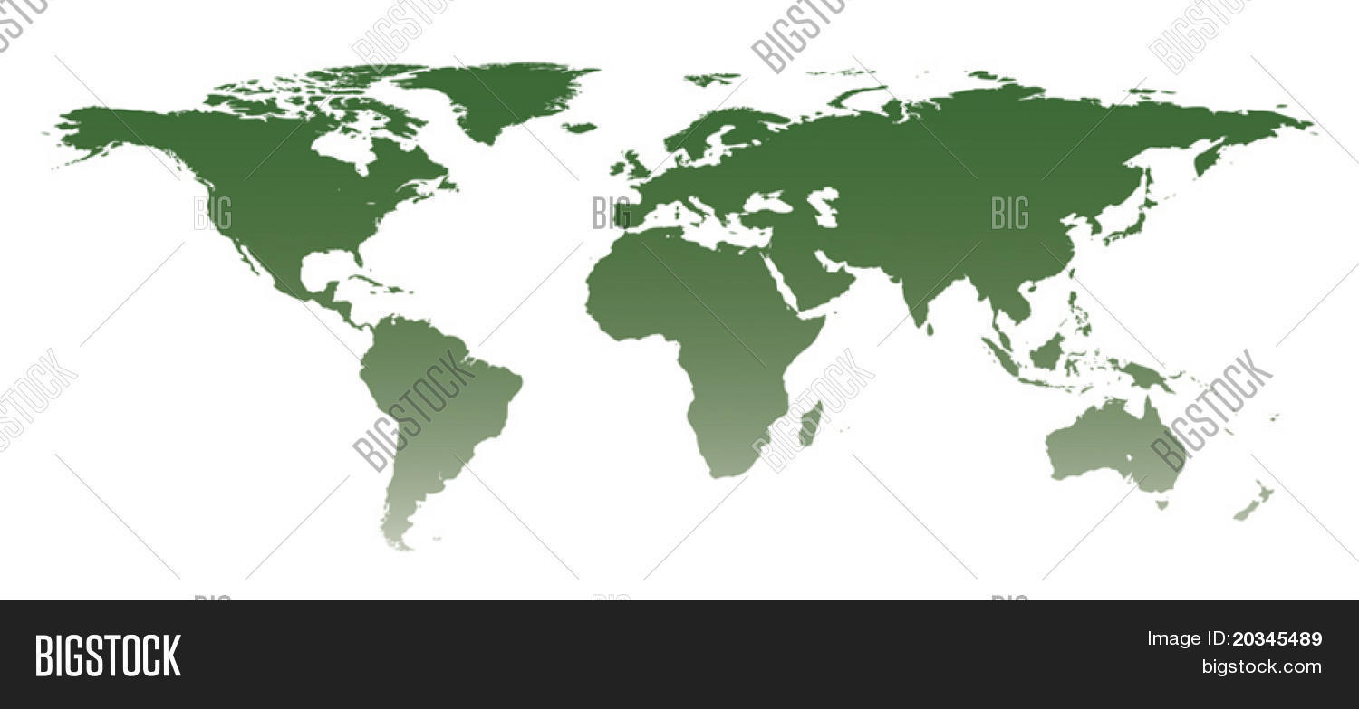 Highly detailed world vector photo free trial bigstock highly detailed world map with gradient manually traced from public domain map gumiabroncs Image collections
