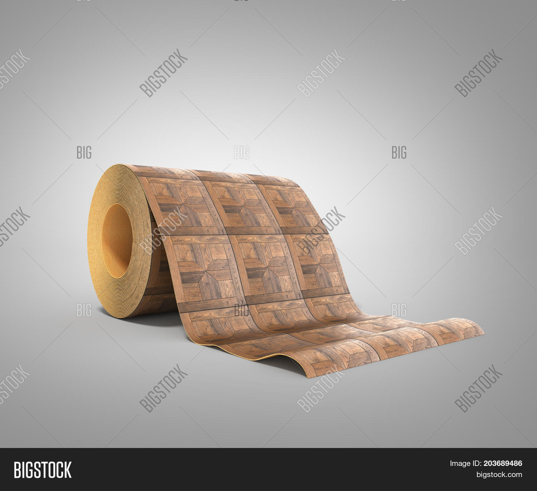 Roll Linoleum Wood Image Photo Free