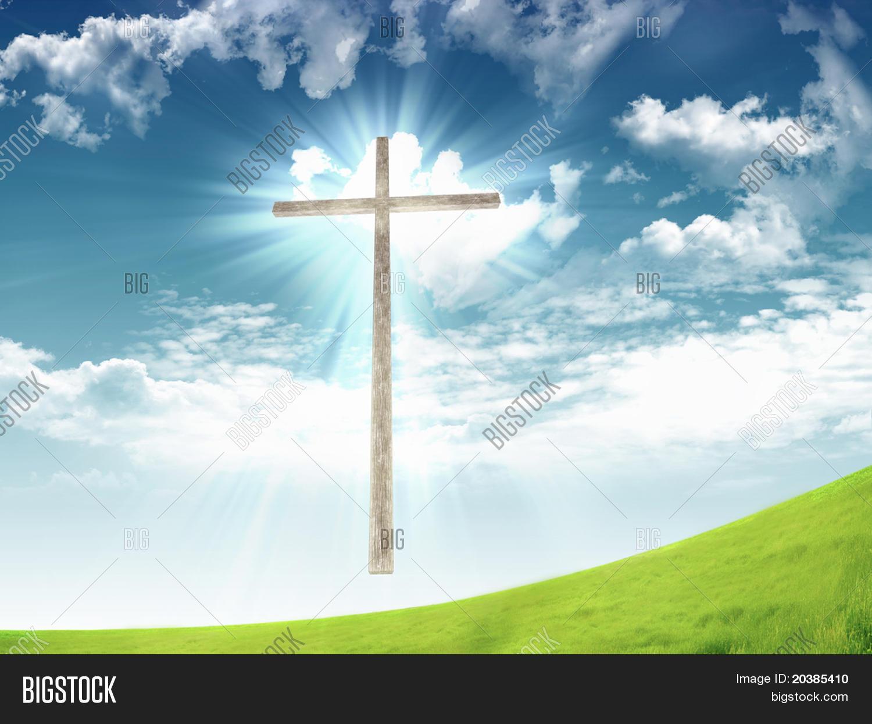 Christian Cross Image Photo Free Trial Bigstock