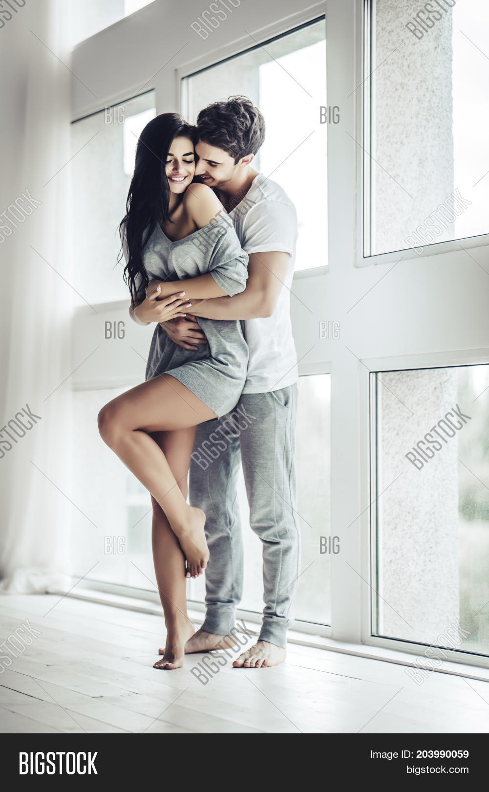 Love Couple Home Image Photo Free Trial Bigstock