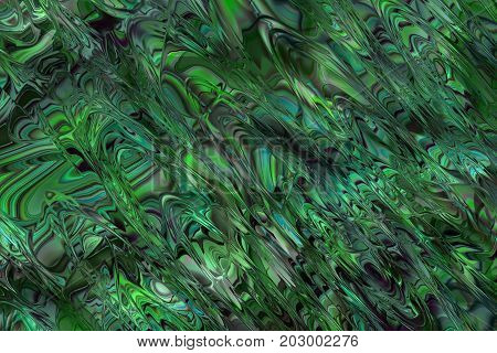 Abstract background pattern in green an turquoise