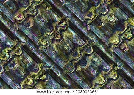 Abstract Symmetric Background Texture